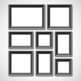 Picture Frames Collage Stock Image