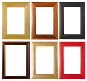 Picture frames collection Royalty Free Stock Images