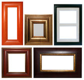Picture frames collection Stock Photography