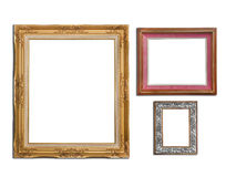 Picture frames group Royalty Free Stock Images