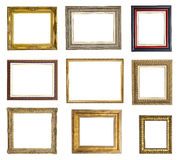 Picture frames set Royalty Free Stock Image