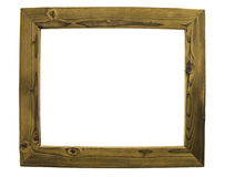 Picture frames on a white background. Stock Photos