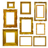 Picture  frames on white Royalty Free Stock Images