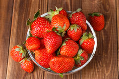 Picture of fresh ripe strawberry Royalty Free Stock Photo