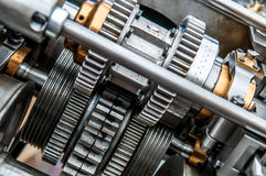 Picture of gears with shallow DOF Royalty Free Stock Image