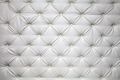 Picture of genuine leather upholstery Royalty Free Stock Image