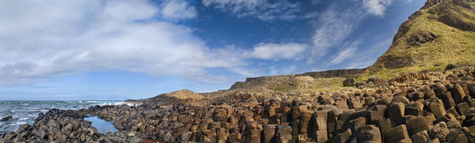 Picture of Giant's Causeway in Northern Ireland. Stock Image
