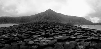 Picture of Giant's Causeway in Northern Ireland. Stock Photography