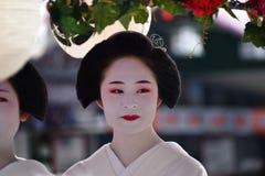 Lady`s Parade of Gion festival, Kyoto Japan Stock Photography