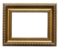 Picture gold frame Stock Photo