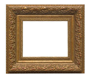 Picture gold frame Stock Image