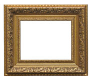 Picture gold frame Royalty Free Stock Images