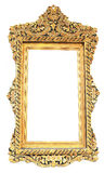 Picture gold frame Thai style Royalty Free Stock Images