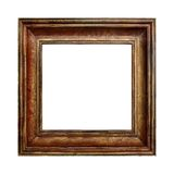 Picture gold wooden frame Stock Photo