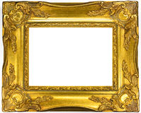 Picture golden frame Royalty Free Stock Images