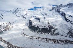 The Gorner Glacier, Zermatt, Switzerland