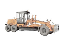 Picture of the grader Stock Image