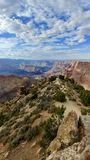 Grand Canyon National Park Arizona. Picture of Grand Canyon National Park in Arizona Stock Image