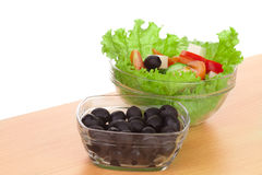 Picture of greek salad Royalty Free Stock Photography