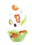 Picture of greek salad Royalty Free Stock Photos