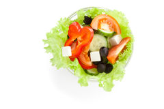 Picture of greek salad Royalty Free Stock Photo