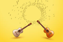 Picture of guitar vector illustration