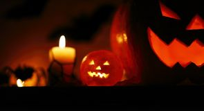 Picture of halloween holiday background Stock Images
