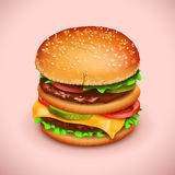 Picture of hamburger Stock Images