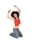 Picture of happy woman Stock Photo