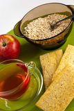 Picture of a healthy breakfast Stock Images