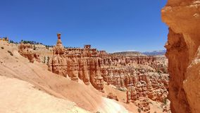 Bryce Canyon National Park Utah. Picture of hoodoos at Bryce Canyon National Park in Utah stock images