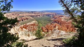 Bryce Canyon National Park Utah. Picture of Hoodoos at Bryce Canyon National Park in Utah Stock Image