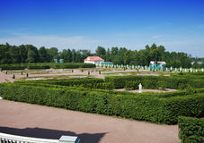 Picture house. Oranienbaum (Lomonosov). stock photo