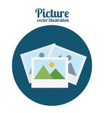 Picture icon Royalty Free Stock Photos