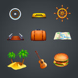 Picture of icons Stock Photos