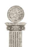 Euro Statue Stock Photography