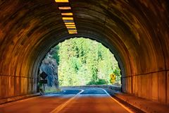 Yosemite Tunnel View At Day-Time royalty free stock images