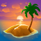 Picture of island Stock Image