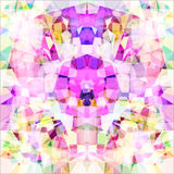 Picture a kaleidoscope. Raster Royalty Free Stock Images