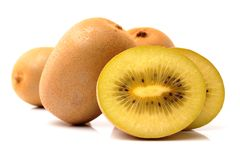 This picture is a kiwifruit Royalty Free Stock Photography