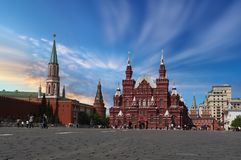 Kremlin Red Square Stock Images