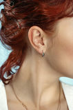 Picture of lady ear Stock Images