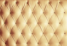 Leather upholstery. The picture of leather upholstery Stock Photography