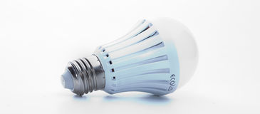 This is a picture of the LED light bulb I use. Stock Photos