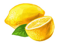 Picture of lemon Royalty Free Stock Photos