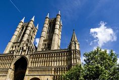 Lincoln Cathedral Summertime Royalty Free Stock Photography
