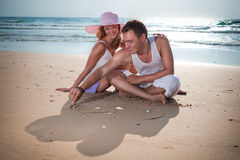 The picture of love Royalty Free Stock Photos