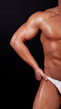 Picture of males torso in underwear Stock Photography
