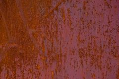 Rust Texture Background Pattern. Picture of the Metal Rust Texture Background Pattern Royalty Free Stock Image
