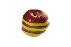Picture of mixed apples Royalty Free Stock Photo